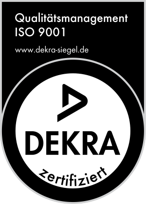 Dekra-Siegel Qualitätsmanagement